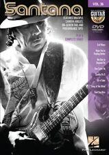 GUITAR PLAY ALONG DVD 36 Santana