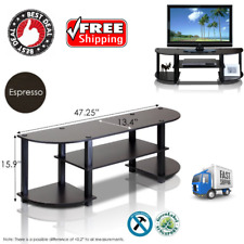 TV Stand 55 Inch Flat Screen Entertainment Console Media Center Home Furniture