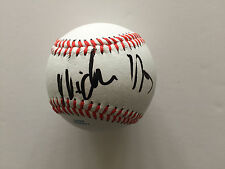 NICHOLAS HOULT AUTHENTIC SIGNED BASEBALL AFTAL & UACC [14394] OBTAINED IN PERSON