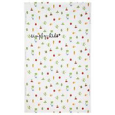 "IKEA Children Textiles TORVA GRONSAK Fabric  47x118"" Kids Garden Vegetables BNIP"