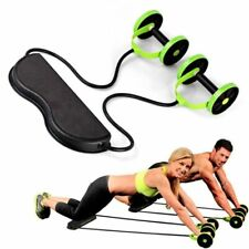 Home Fitness Equipment Muscle Exercise Equipment Double Wheel Abdominal Sport