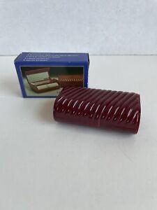 Lipstick Case Holder Vintage Lighted With Mirror Original Box