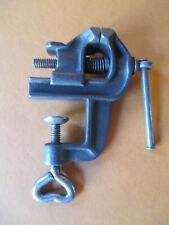 Kleiner alter Schraubstock Schosser Goldschmied Feinmechanik - Backenbreite 24mm