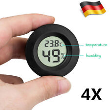4 Stlk Thermometer Digital LCD Temperatur Hygrometer Termometer Luftfeuchtigkeit