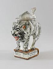 Porzellan Bierkrug Katze grau 0,5l Ernst Bohne & Söhne / Ens H20cm 9941771