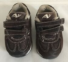 Athletic Works, Brown Toddler Boys Suede Shoes Size 2 EUC