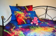 3D Bettwäsche 135cm x 200cm Galaxie Universum Kosmos Nebula 100% Baumwolle 2tlg
