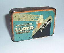Pequeña lata 10 él deutsche Lloyd cigaretten Engelhardt barco antes 1945!