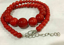 6-14MM SOUTH SEA RED SHELL PEARL NECKLACE Earrings SET AAA++
