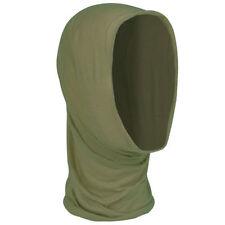 Sciarpa da uomo verde tinta unita
