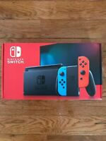 Nintendo Switch 32GB Console with Neon Red and Blue Joy-Con ⭐️IN HAND⭐️SHIPS NOW