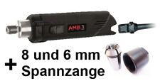 AMB/Kress 1050 FME-1 Fräsmotor + 2 Kress Präzisions Spannzangen, neues Modell
