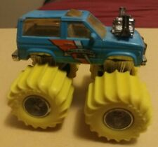 Vintage Matchbox Mud Slinger 1987 Blue Monster Truck