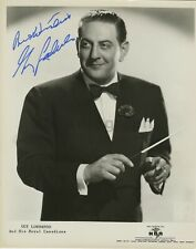 Guy Lombardo - Jazz, Big Band Era - Signed 8x10 Photograph