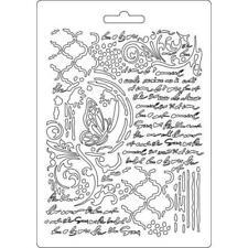 Soft Mould-STAMPERIA-flexible Gießform-A5-Schmetterling u. Manuskripte-K3PTA501