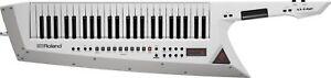 Roland AX-Edge Keytar Synth - White