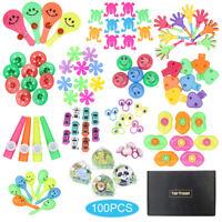100Pcs Birthday Pinata Fillers Treasure Box Small Toys Set Party Gift FavoPL