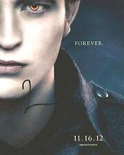 Robert Pattinson Signed TWILIGHT 10x8 Photo AFTAL OnlineCOA