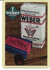 CC-87 SINGLE swap  card MINT SMOKING TOBACCIANA  WEBER CORONA CIGARS
