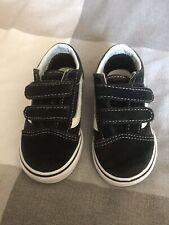 Infant Vans Size UK6.5 Old Skool Black