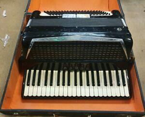 Excelsior Symphany Accordian Model No 308 & Hard Case