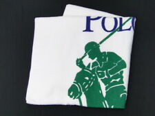 NEW Ralph Lauren Large Beach Bath Gym Towel Polo Player Cotton USA 40170124300 2