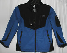 Boys SNOZU Blue & Black Zip Up Jacket Size S 7-8
