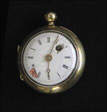 Rare sehr kleine Spindeluhr Augsburg um 1720 Durchmesser 2,9 cm
