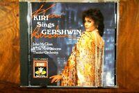 Kiri Sings Gershwin - Kiri Te Kanawa, McGlinn  -  CD, VG