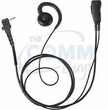 PRYME™ Pro-Grade Earhook Earpiece for HYT TC320 Compact Radio w/ Locking Screw