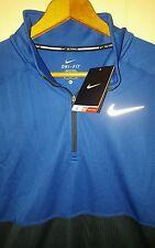 Nike Dri-Fit Quarter Zip Long Sleeve Pullover BaseLayer Shirt: XL (NWT) 648588