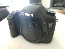 Canon EOS 7D body with Batteries, Charger, and memory card