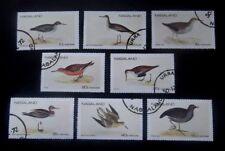 Nagaland/India-1972-Birds -Full set of Eight-Used