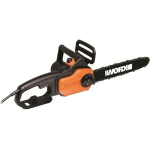 NEW Positec WG305 8.0 Amp 14in Electric Chainsaw Powered Chain Saw WX 8Amp