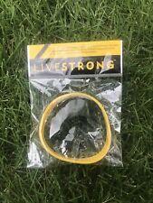 🔥NEW - Nike LIVESTRONG Yellow Silicone Bracelet Wristband