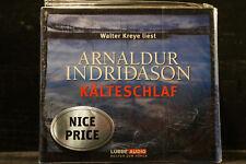Walter Kreye - liest Arnaldur Indridason: Kälteschlaf  4 CDs