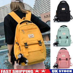 Unisex Large Backpack School Shoulder Bag College Travel Bag Laptop Bag Rucksack