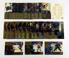 1998-99 McDonald's Upper Deck Hockey Set (28) Nm/Mt * Gretzky Roy Yzerman