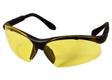 Radians Revelation Safety Glasses Black Frame Yellow Lenses Adj. Temples