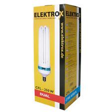 Elektrox 250-W 250-Watt Dual ESL CFL Wuchs Blüte Pflanzenlampe Pflanzenlicht