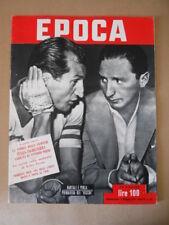 EPOCA 84 1952 Gino Bartali e Piola Storia incontri tra Italia Inghilterra [G774]