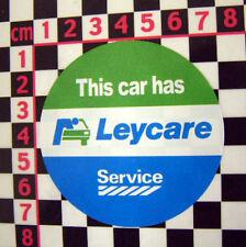British Leyland Service Leycare Sticker - Austin Morris Rover Triumph Mini Metro