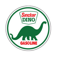 SINCLAIR GASOLINE GAS DINOSAUR NHRA HOT RAT ROD DECAL VINTAGE LOOK STICKER