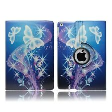 Leather Flip Book Stand Folio Protect Case Cover for Apple iPad Mini 4 iPad 2 Ultra Butterfly - Flower Butterflies Fly Fantasy