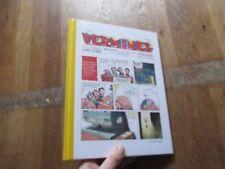 ALBUM BD VERMINES episode 1 + magazine 1 guerse pichelin eo NEUF SOUS FILM