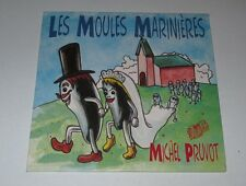 Michel Pruvot - les moules marinieres - cd single 2 titres 1996