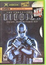 The Chronicles of Riddick Escape From Butcher Bay X Box 360 Complete With Manual