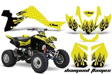 Suzuki LTZ 400 AMR Racing Graphic Kit Wrap Quad Decals ATV 2009-2012 DMND FLM Y