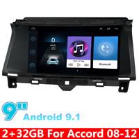 "9"" For 2008-2012 Honda Accord 8th Android 9.1 Radio Stereo GPS Navigation Player"