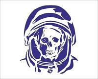 SKULL Astronaut STENCIL Graffiti Biker Tattoo A4/A3/A2/A1/A0 350 micron SKUL003